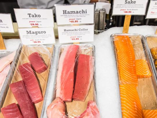 The center for parasitic diseases at ucsf center for for Whole foods sushi grade fish
